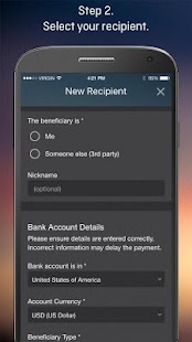Forex Money Transfer- screenshot thumbnail