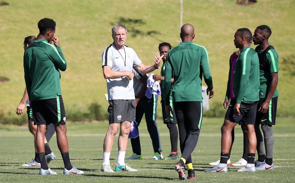 'We've tried to put together a balanced squad'' says Baxter after naming Bafana's Afcon squad