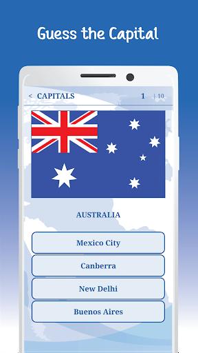 The Flags of the World u2013 Nations Geo Flags Quiz 5.1 screenshots 4