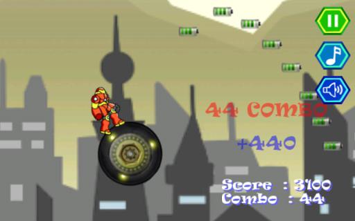 鋼鐵男孩超級跳躍