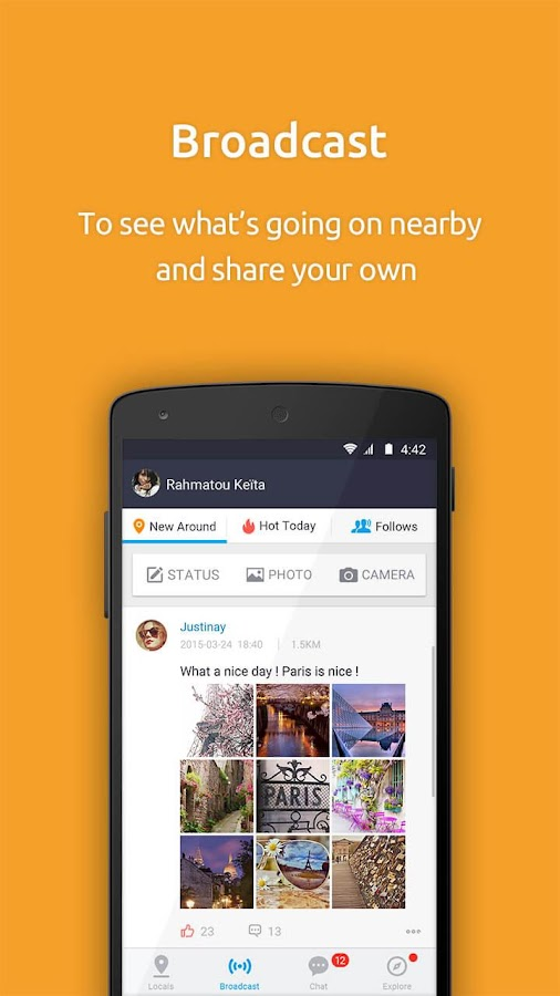 PalmChat- Chat, Love, Dating !- screenshot
