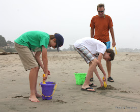 Photo: (Year 3) Day 22 - Rog Giving Out His Orders for Sand Castle Making