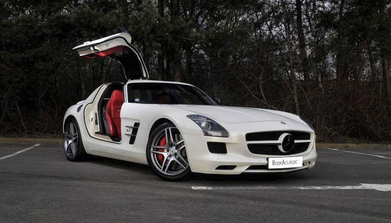 Mercedes-Benz SLS AMG Gullwing Hire Walsall