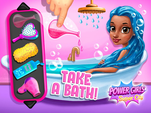 Power Girls Super City - Superhero Salon & Pets apktram screenshots 21