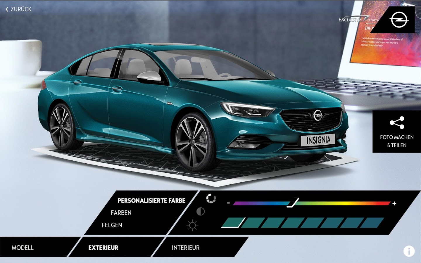 OPEL Exclusive AR – Screenshot