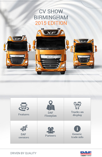 DAF exhibition app
