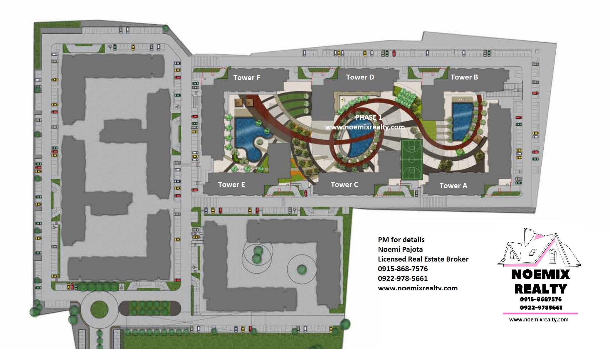 Bloom Residences, Sucat, Paranaque City site development plan