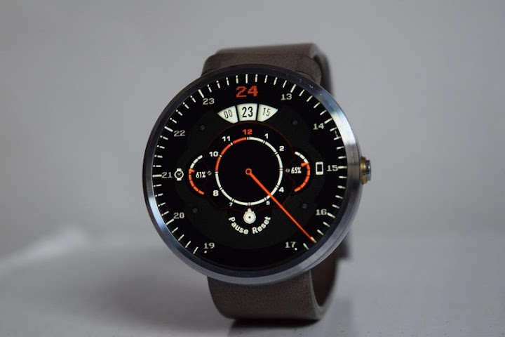 android Phroton Interactive Watch Face Screenshot 3