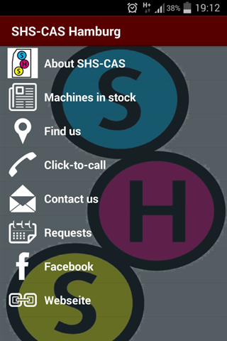 SHS-CAS graphic machines