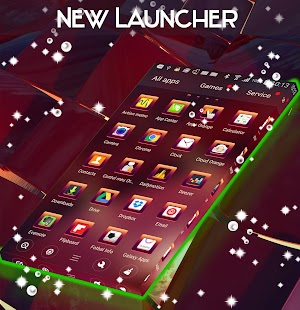 New Launcher Theme - náhled