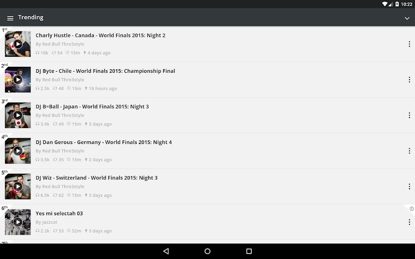 Screenshot 9 for Mixcloud's Android app'