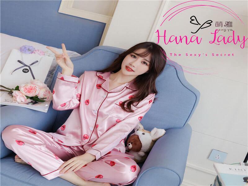 Khám phá 5 bộ pijama lụa siêu dễ thương tại Hana Lady