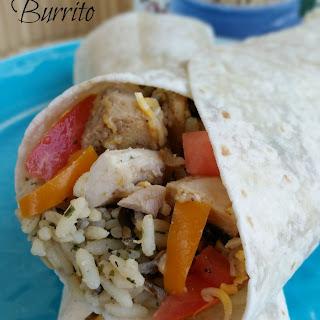 Chicken & Rice Burrito.