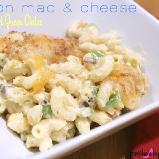 Bacon Mac & Cheese with Roasted Hatch Green Chiles