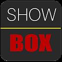 Show movie boxe icon