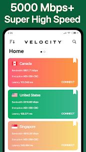Velocity VPN MOD APK 0.2.3 2