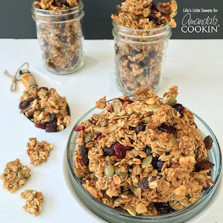 Autumn Harvest Fruit and Nut Granola.