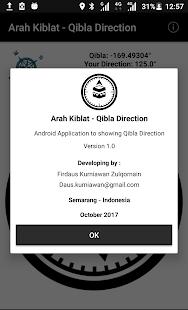 Arah Kiblat - Qibla Direction - náhled