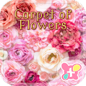 Cute Theme-Carpet of Flowers- icon
