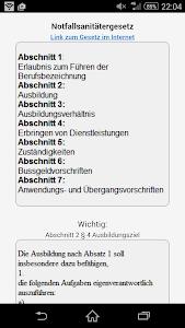 Notfallsanitäter - APP screenshot 7