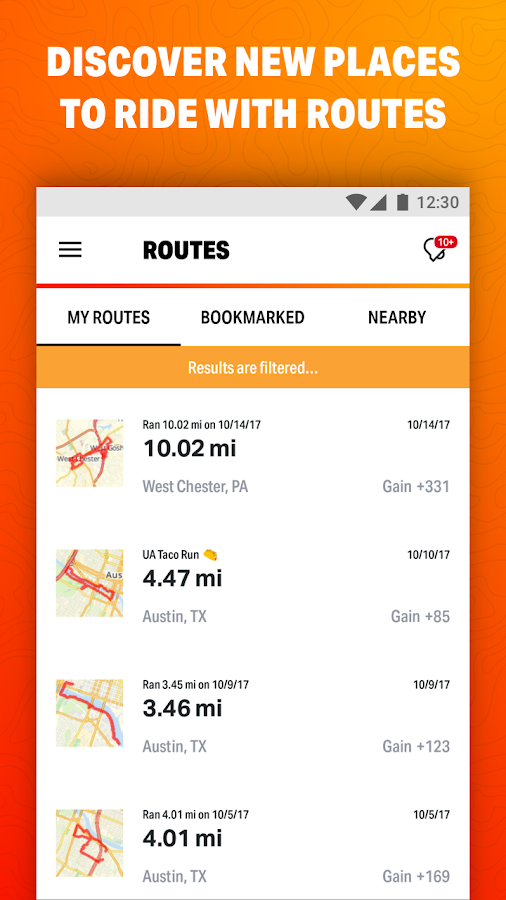 Map My Ride GPS Cycling Riding- screenshot