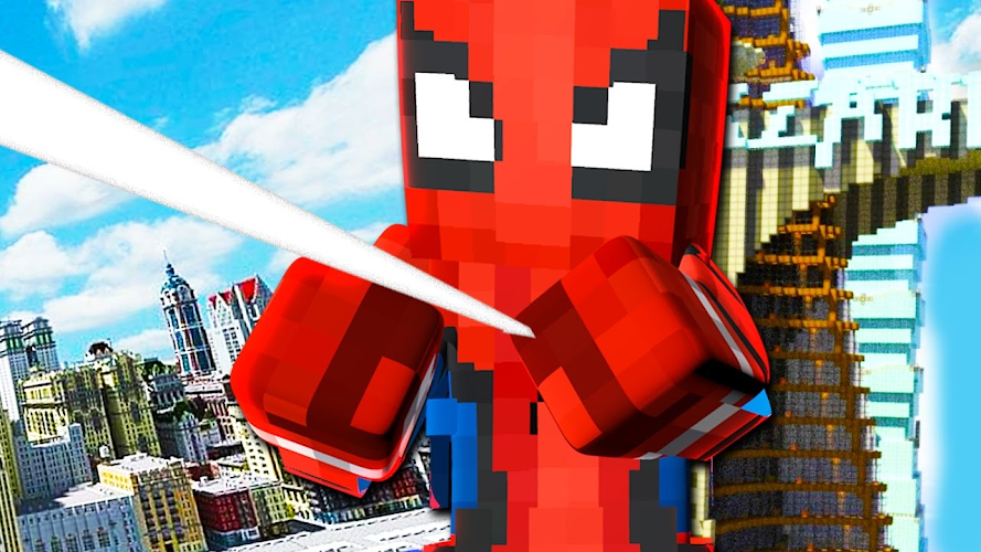 Mod New Spider-Man 2018 for MCPE