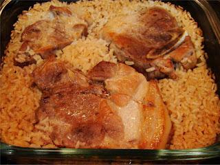 Connie's Pork Chops Over Rice Recipe