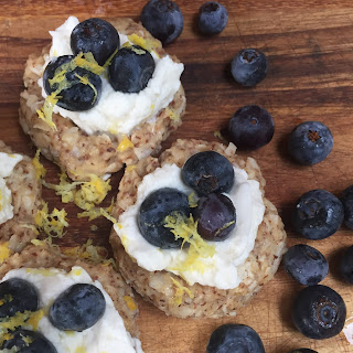 No-Bake Blueberry Coconut Thumbprints Recipe