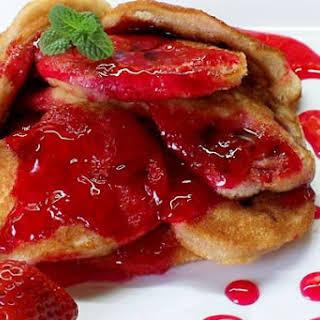 Sponge Cakes With Berries.