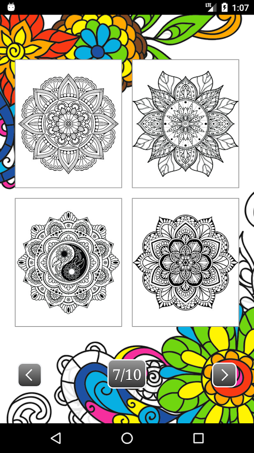 Coloring Book for Adults AntiStress  Android Apps on Google Play