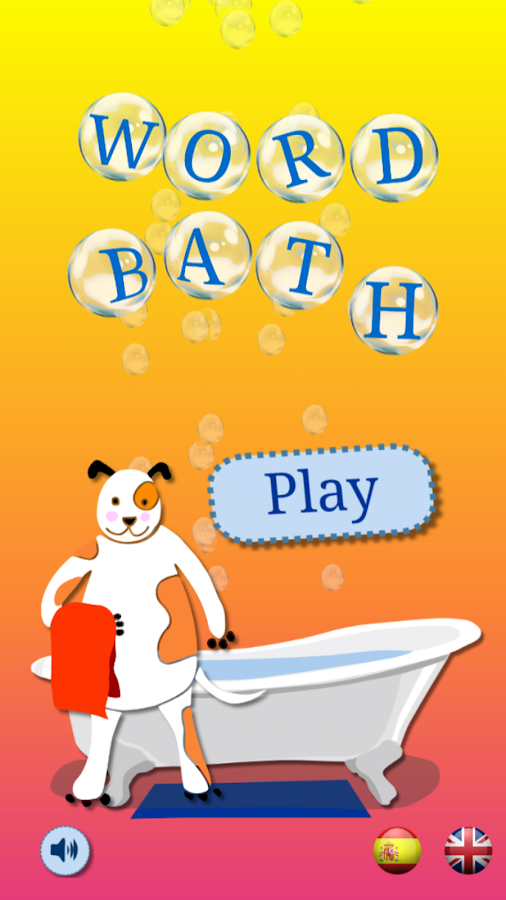 Word Bath - Learn to spell!- screenshot