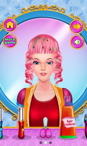 玩免費休閒APP|下載母亲的头发女孩的游戏 app不用錢|硬是要APP