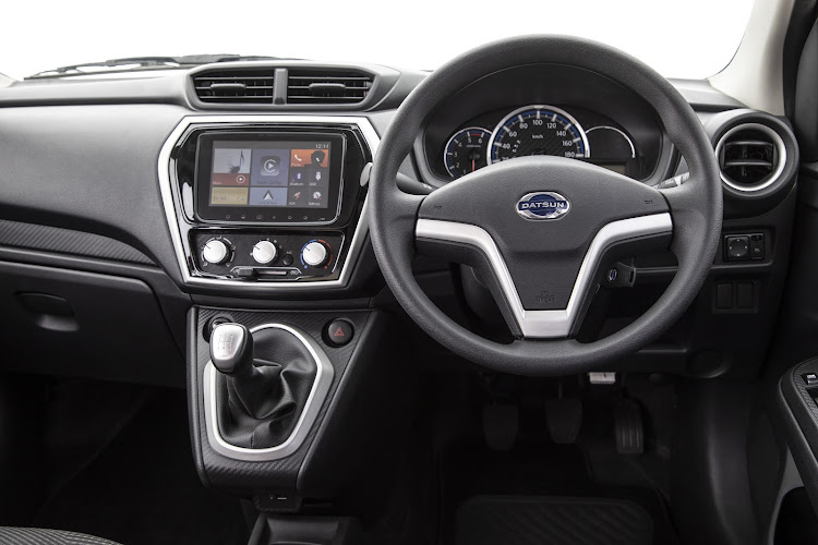 Cheap without being nasty. Datsun Go interior is pleasing to the eye and touch. Picture: SUPPLIED