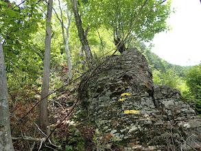 高曝山へは岩の急登