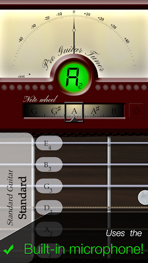 Pro Guitar Tuner 3.1.3 screenshots 1