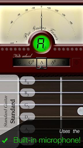 Pro Guitar Tuner 3.0.0 screenshots 1