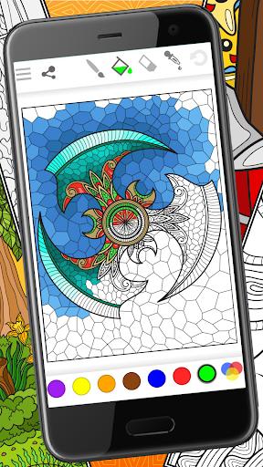 Colorish - free mandala coloring book for adults painmod.com screenshots 1