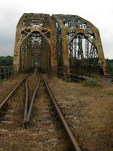 Photo: Most na Bugu pod Fronołowem został zbudowany na początku XX w.