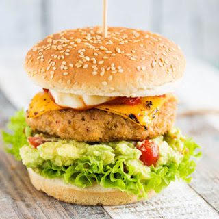 Chipotle Kipburger Met Guacamole