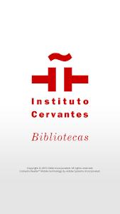 Libros-e Instituto Cervantes screenshot 0