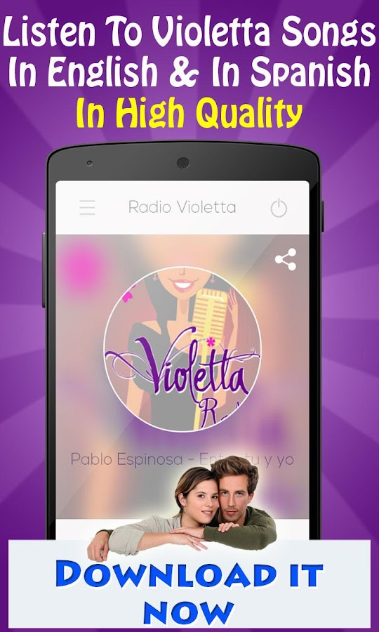 Radio Violetta- screenshot
