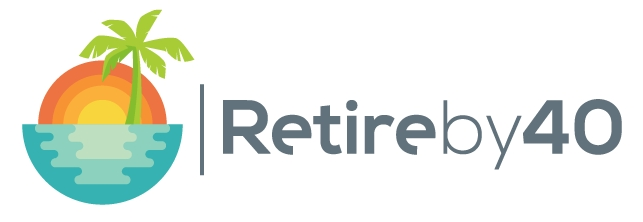 Retire by 40 banner