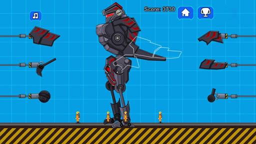 Robot Dinosaur Black T-Rex 2.5 screenshots 2