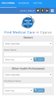Know Your Doctor Cyprus- screenshot thumbnail