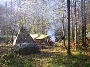 Photo: Das Camp am näxten Morgen