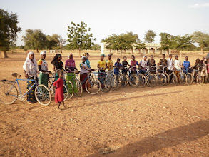 Photo: klaar voor het eerste jaar in de 2de cyclus in Dé..