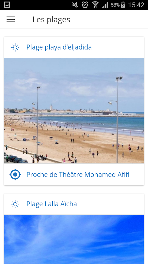 OFFICE DE TOURISME D'EL JADIDA – Capture d'écran