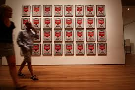 Image result for campbell soup cans warhol