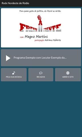 android Rede Nordeste de Rádio Screenshot 0