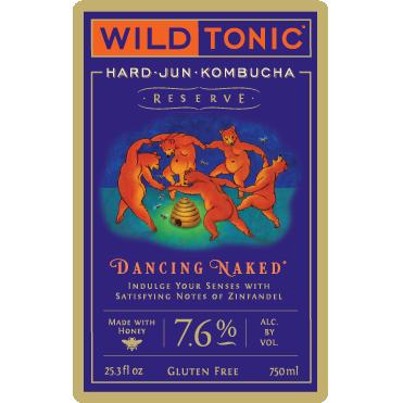 Logo of Wild Tonic Dancing Naked